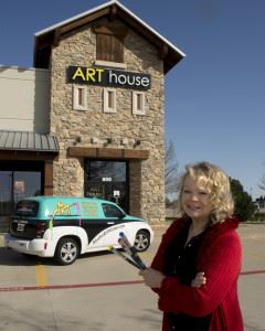 Anita with Art House Mobile and HV 8x10