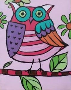 bday owl