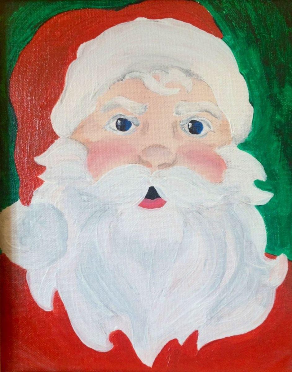 Easy Santa Full Size Is 1063 X 1354 Pixels